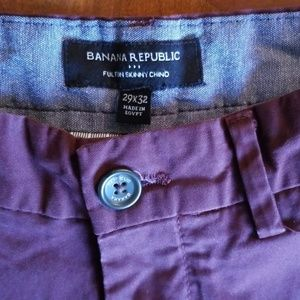Mens Banana Republic Chino Pants